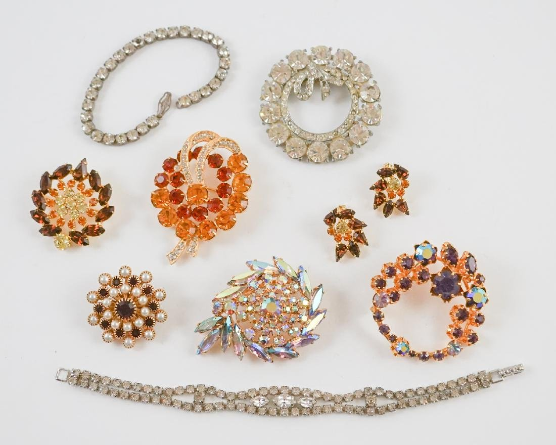 Estate Costume Jewelry, Eisenberg Ice and More