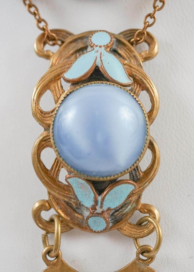 Antique Cameo Lavalier Necklace - 3