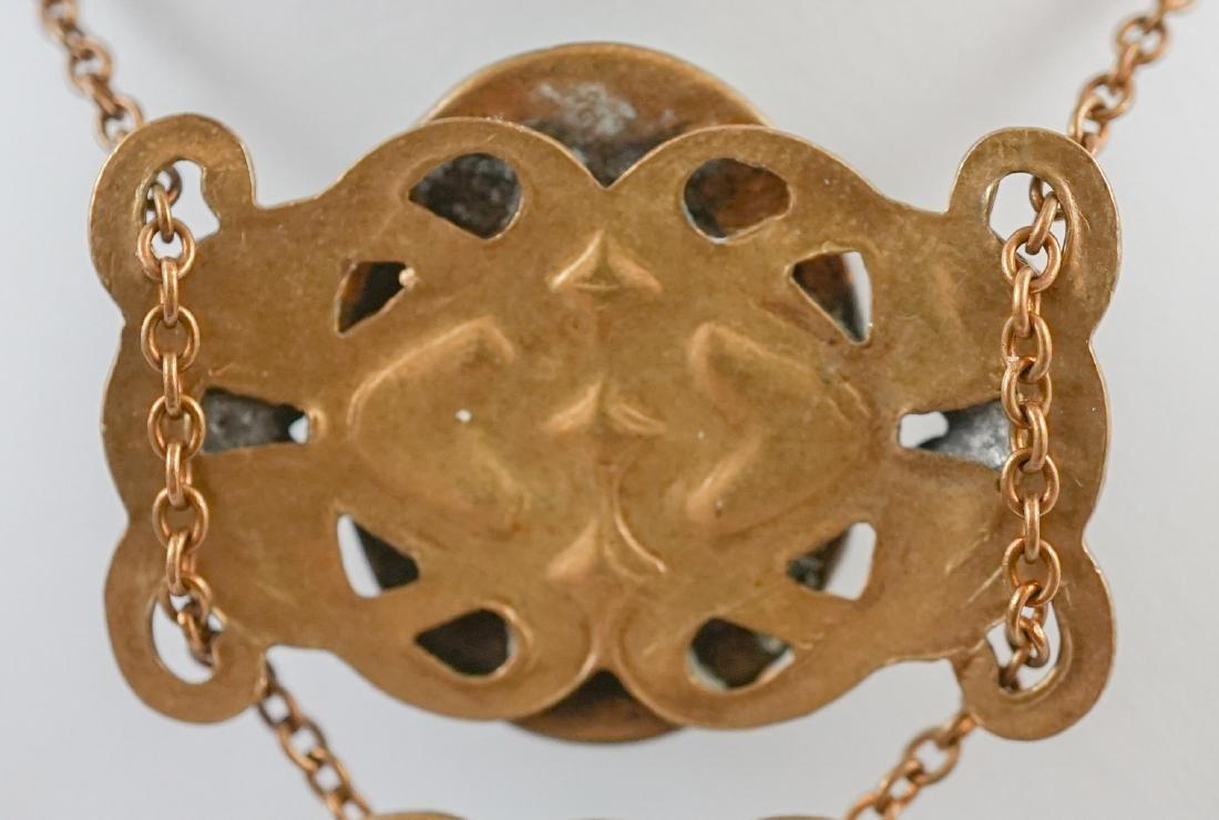 Antique Cameo Lavalier Necklace - 6