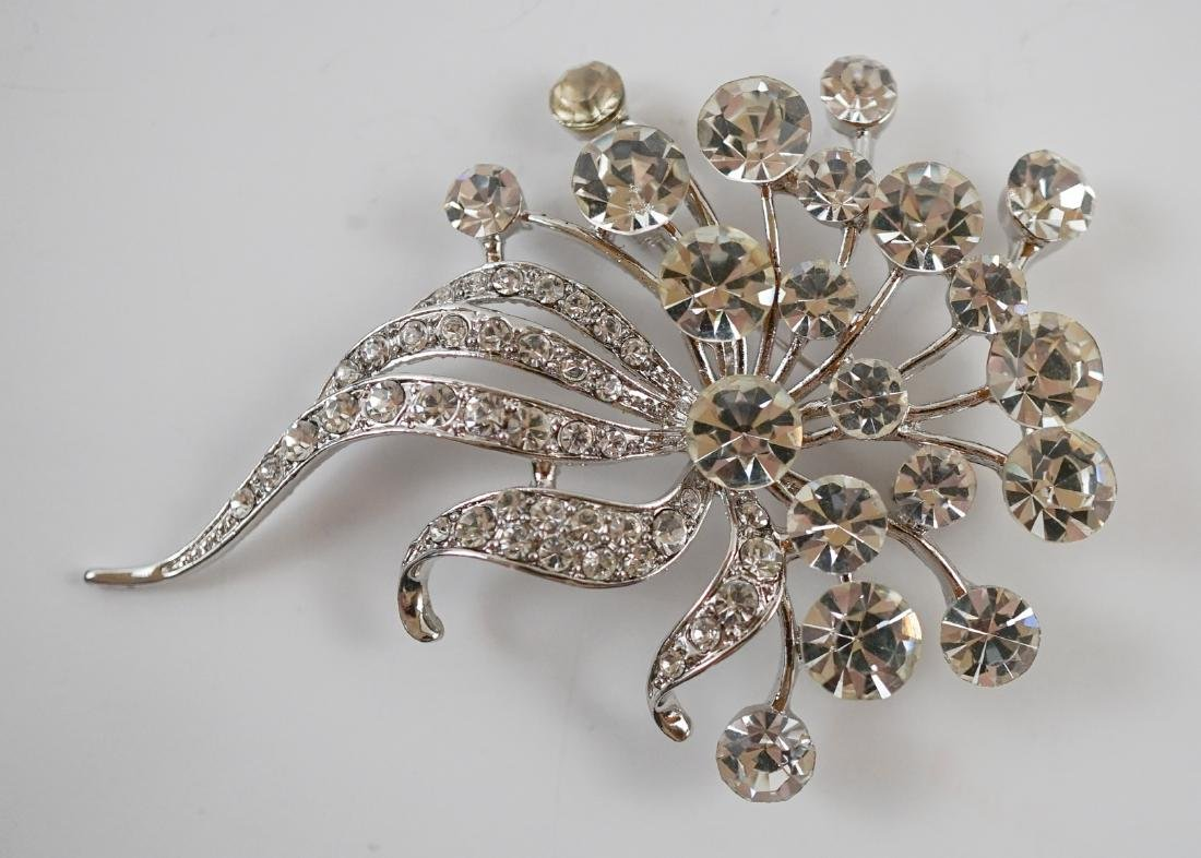 Two Signed Costume Brooches - 5