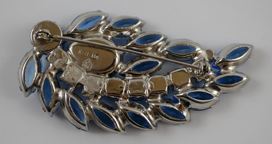 Weiss Brooch and Earrings - 3