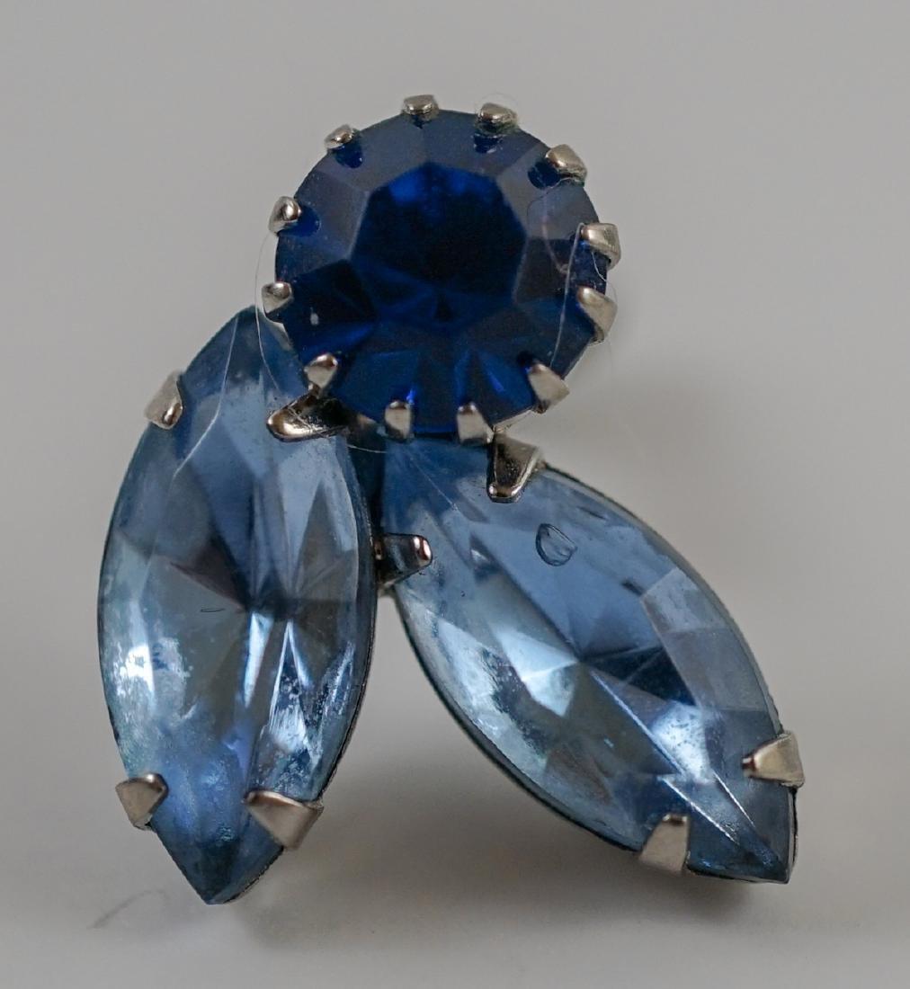 Weiss Brooch and Earrings - 5