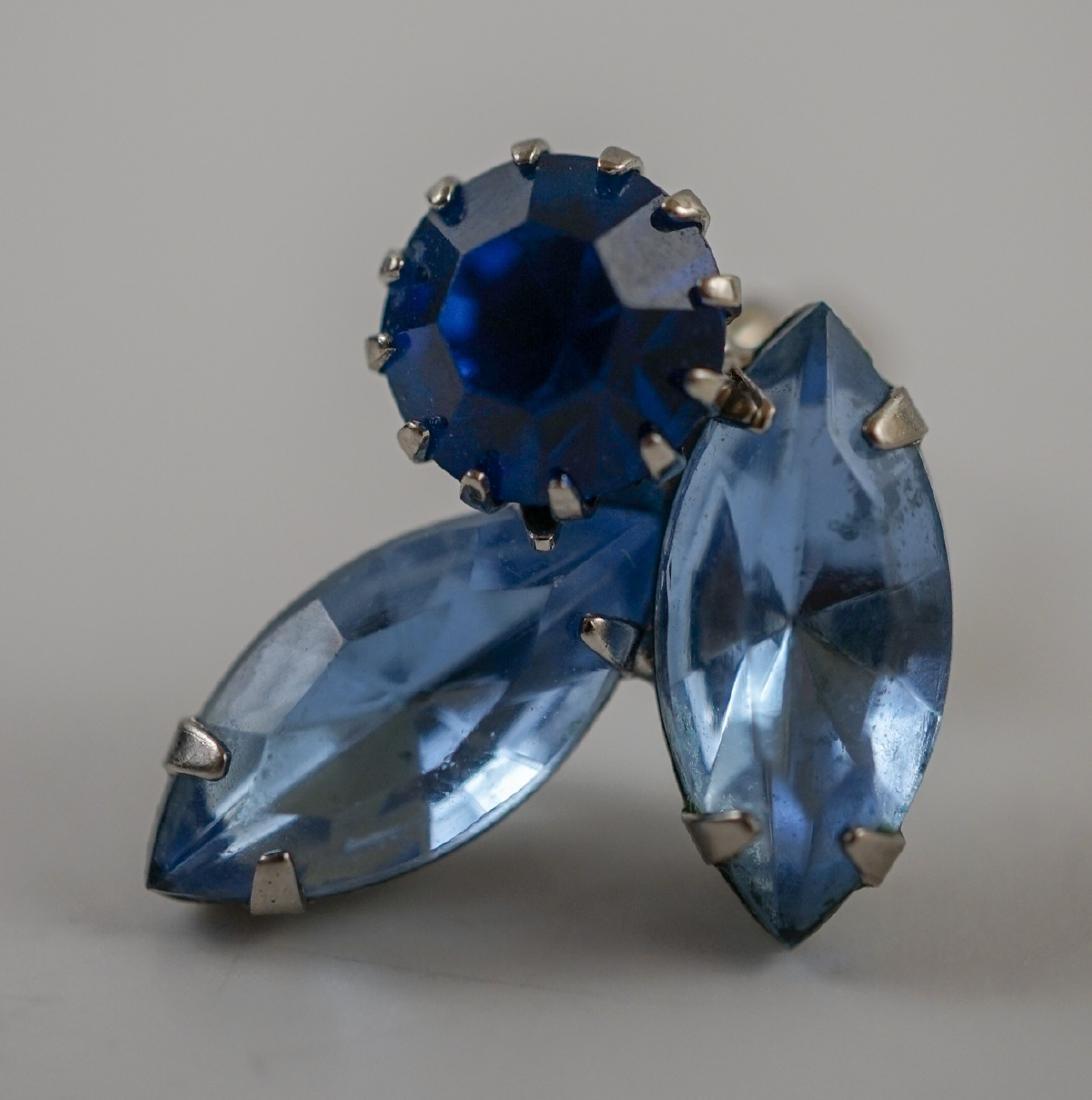 Weiss Brooch and Earrings - 7