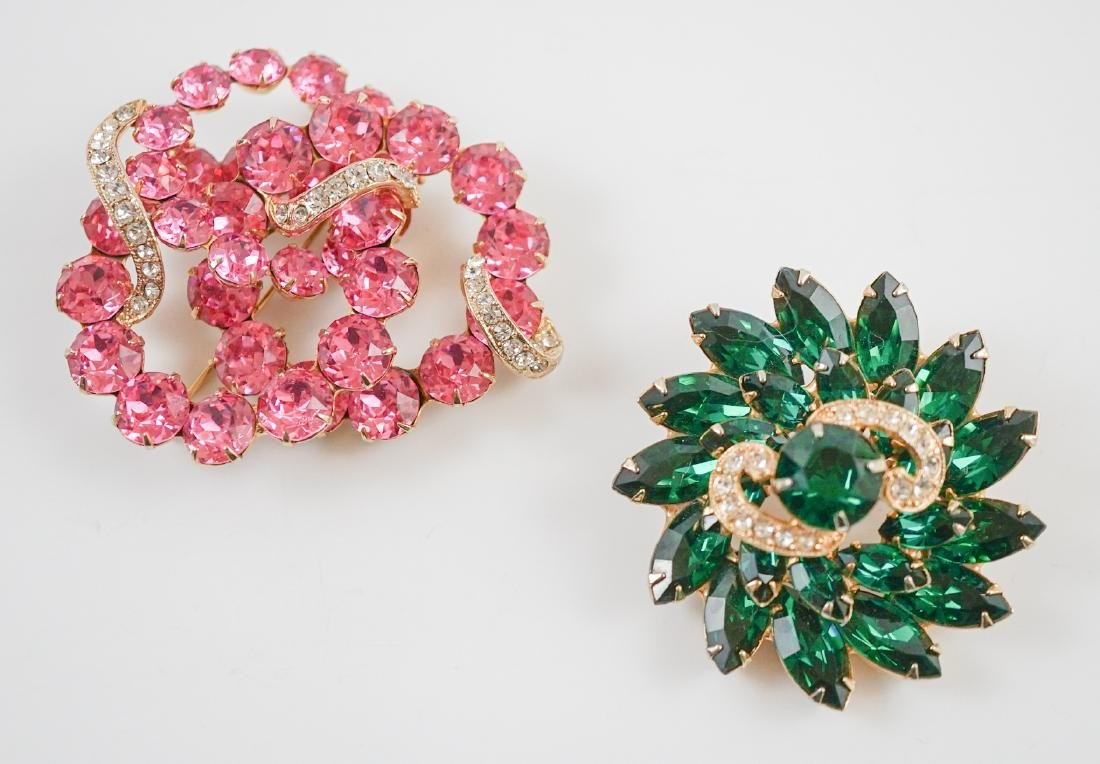 Two Eisenberg Brooches
