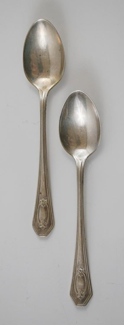 A Group of Fancy Sterling Serving Pieces, 7.2 ozt - 4
