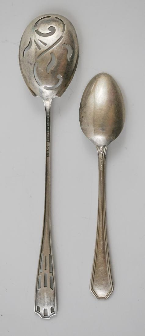 A Group of Fancy Sterling Serving Pieces, 7.2 ozt - 7
