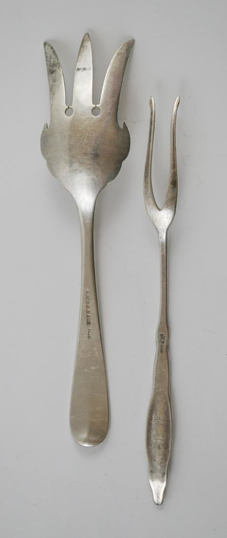 A Group of Fancy Sterling Serving Pieces, 7.2 ozt - 9