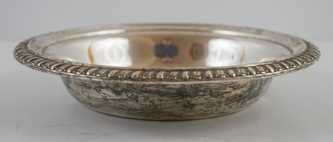 Three Sterling Bowl Weighing 28.55 Troy Ounces - 6