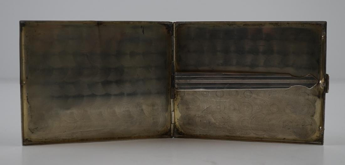 Vintage Sterling Cigarette Case - 3