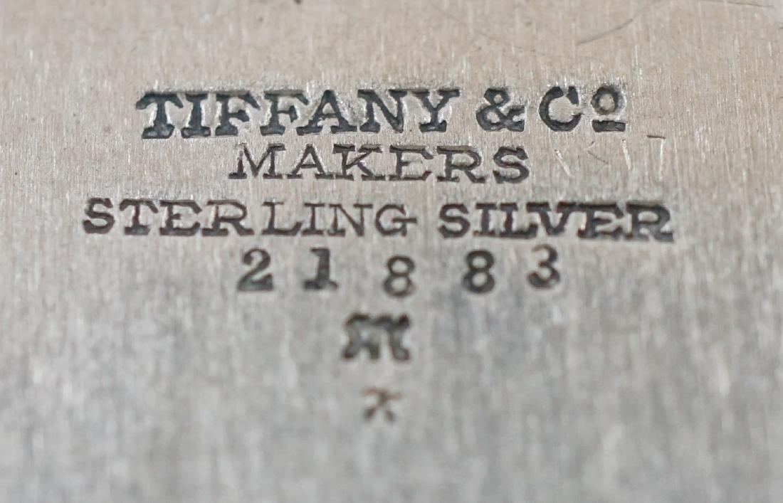 Tiffany & Co. Sterling Ashtrays - 7