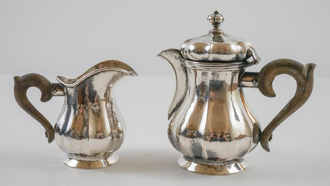 Missiaglia .800 Silver Sugar and Creamer