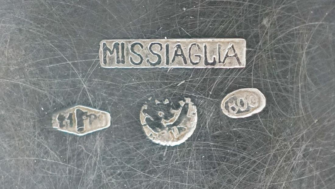 Missiaglia .800 Silver Sugar and Creamer - 4