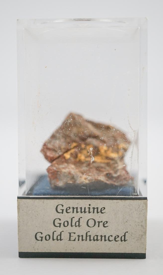 Gold Ore Specimen and Sculpture - 2