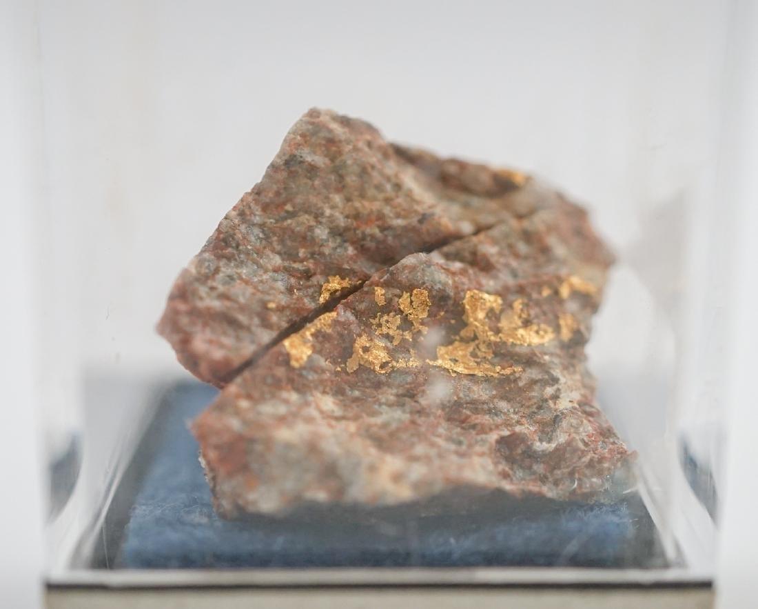 Gold Ore Specimen and Sculpture - 3