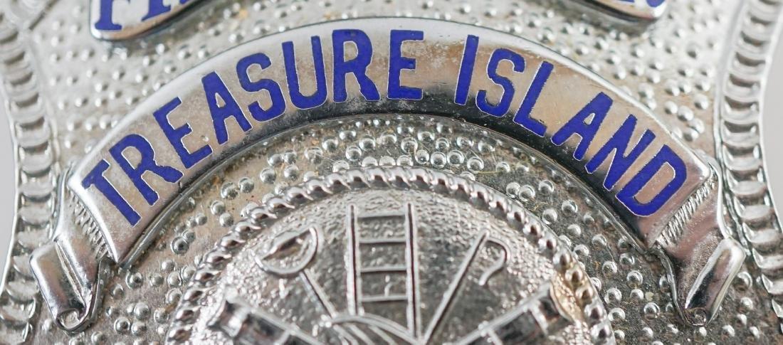 Vintage Treasure Island (San Francisco) Fire Badge - 3