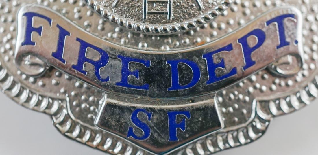 Vintage Treasure Island (San Francisco) Fire Badge - 5