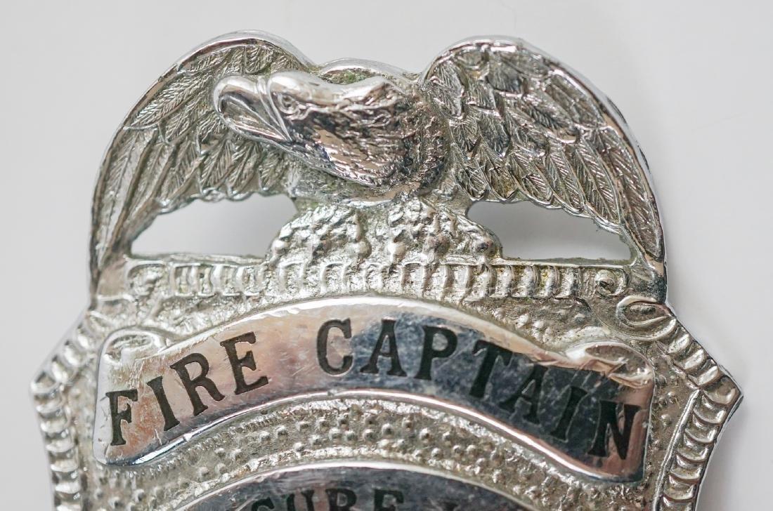 Vintage Treasure Island (San Francisco) Fire Badge - 2