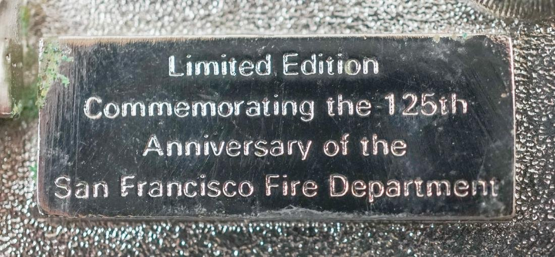 Two Treasure Island Fire Department Buckles - 4