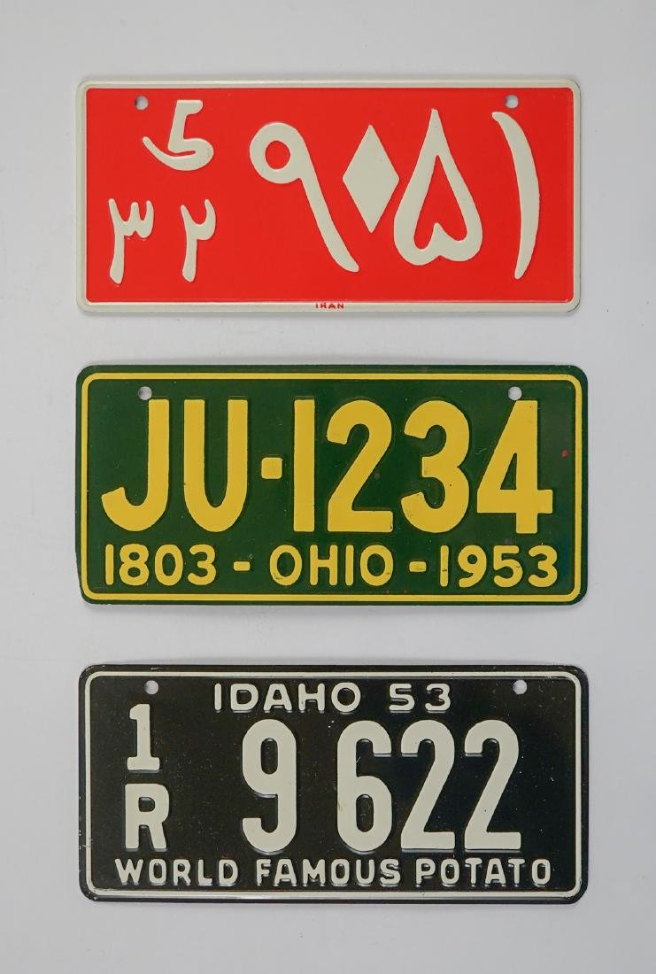 Group of [16] General Mills Bicycle Plates - 3