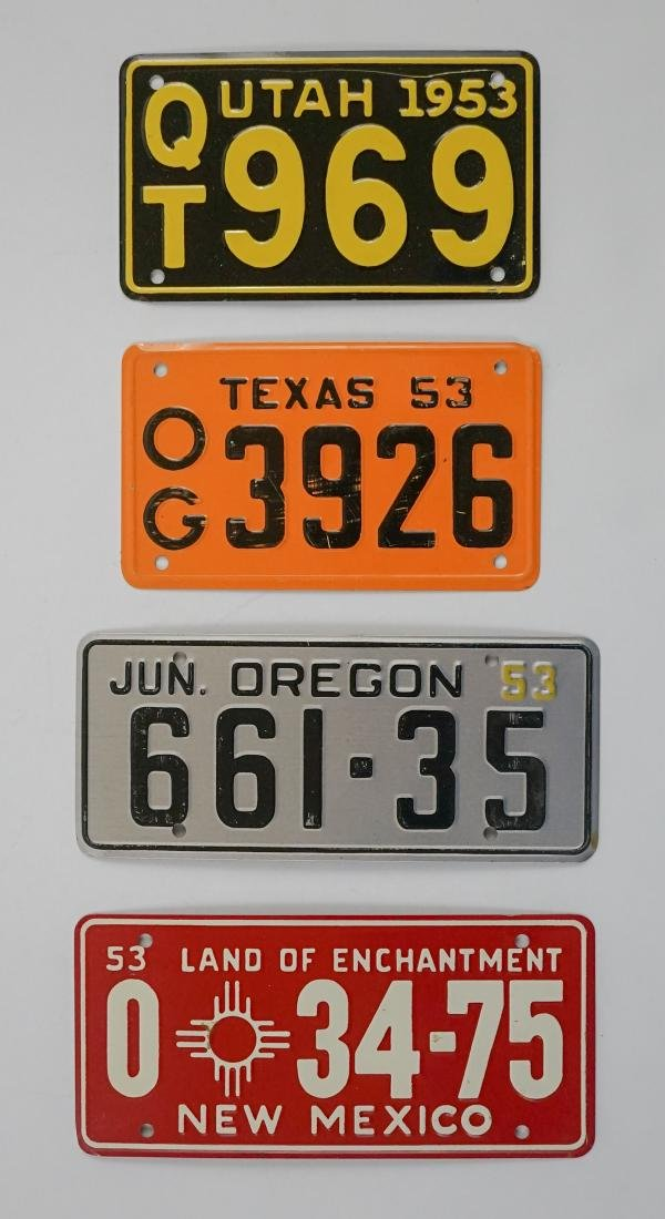Group of [16] General Mills Bicycle Plates - 6