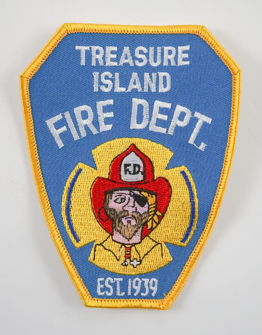 Group of [26] Treasure Island Fire Dept. Patches - 2
