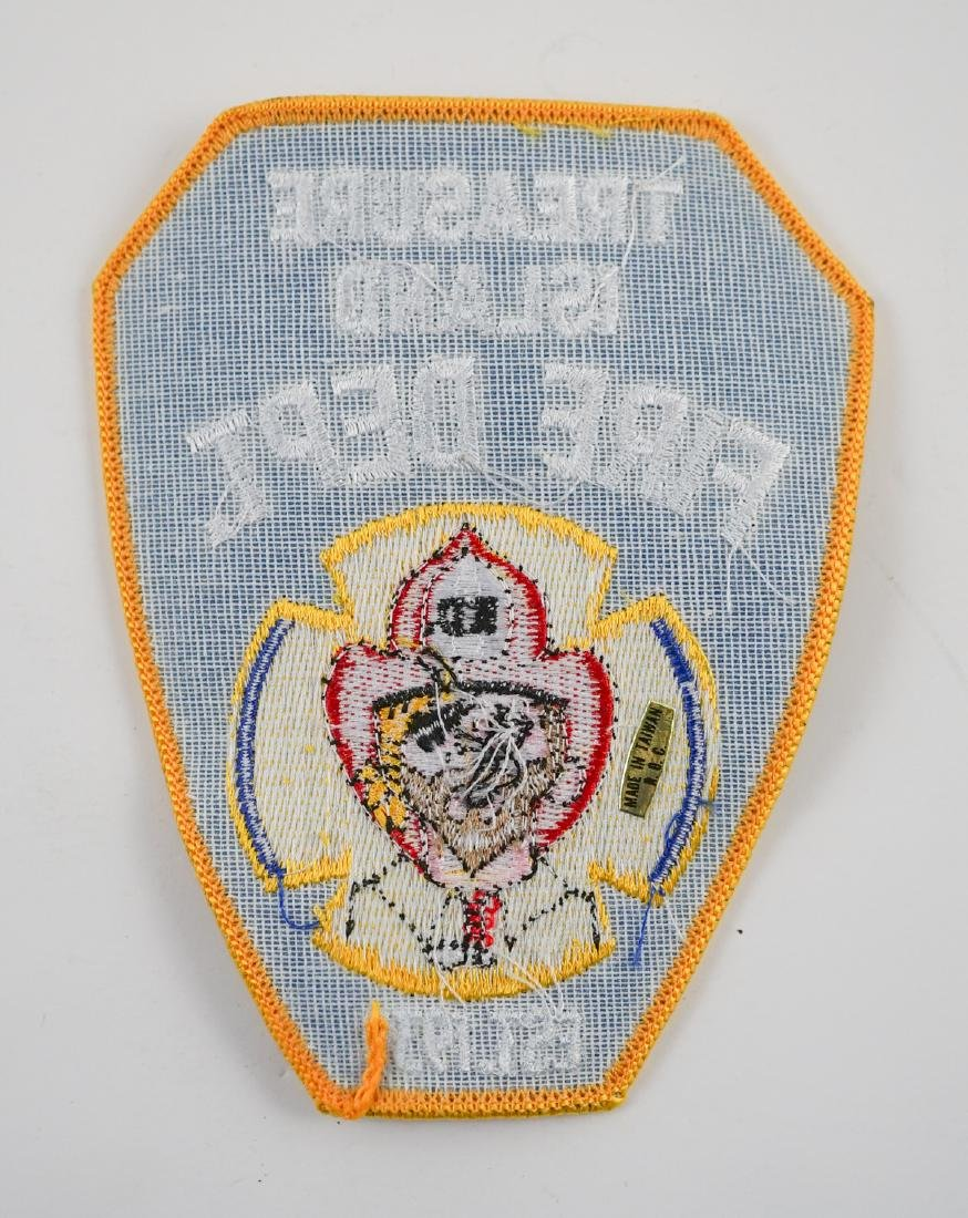 Group of [26] Treasure Island Fire Dept. Patches - 3