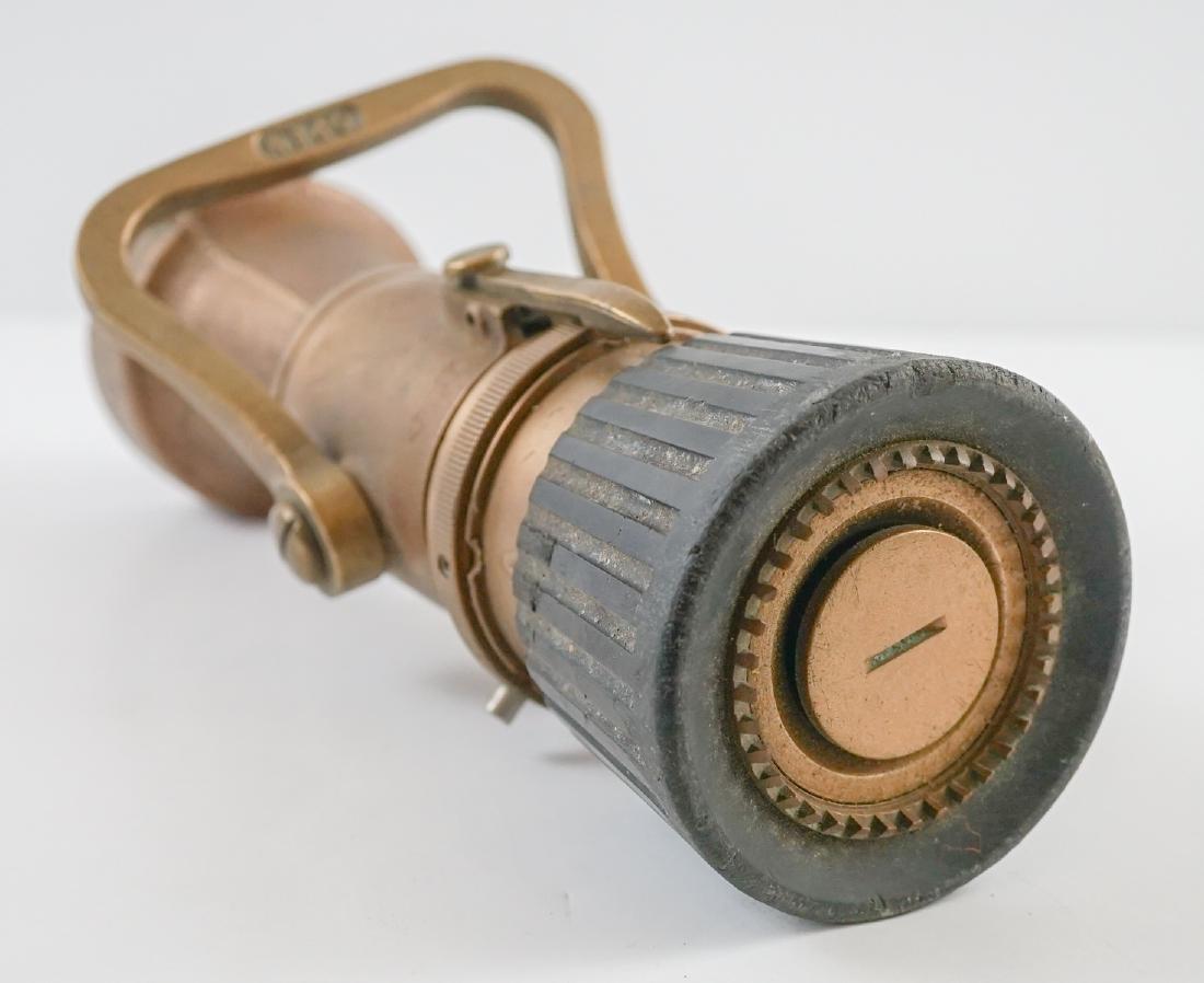 POK Brass Fire Hose Nozzle