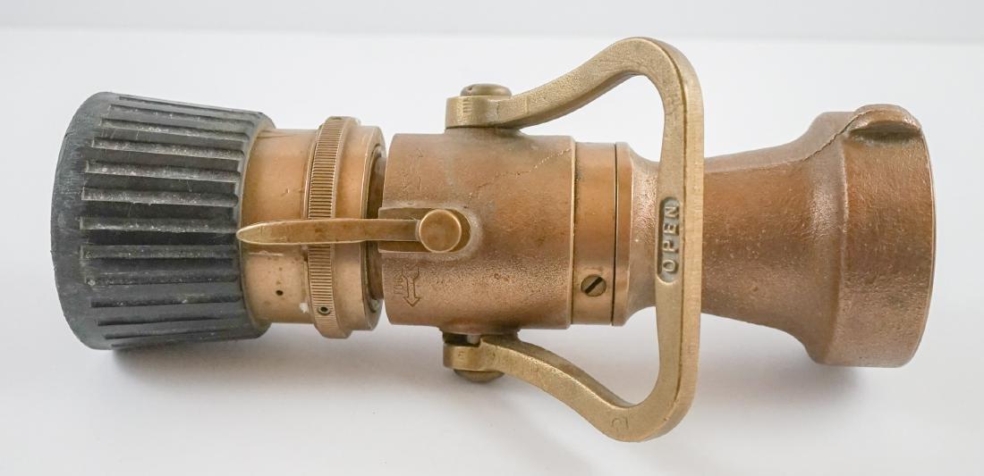 POK Brass Fire Hose Nozzle - 5