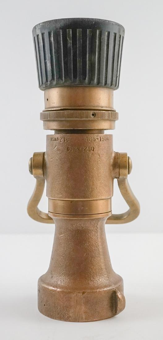 POK Brass Fire Hose Nozzle - 6