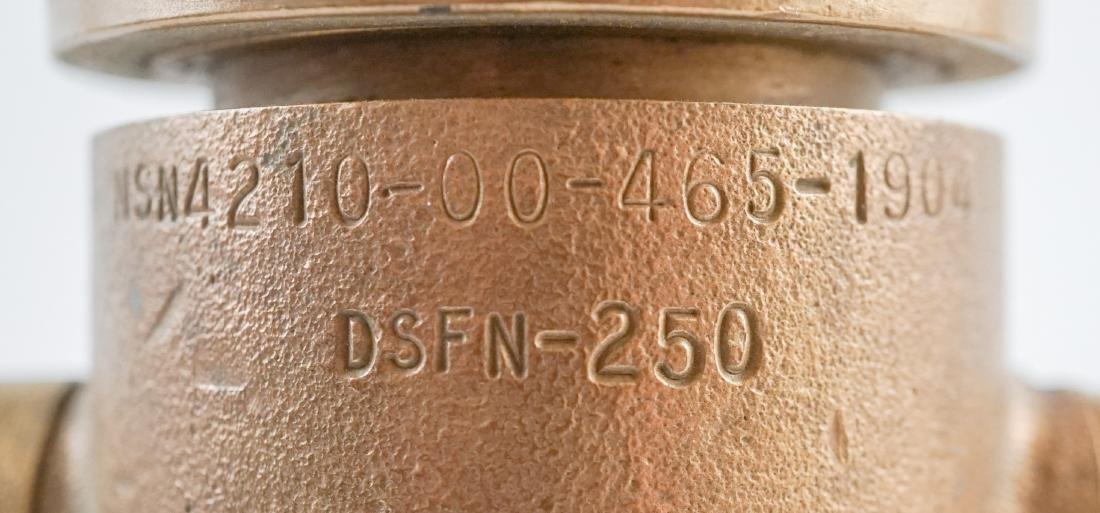 POK Brass Fire Hose Nozzle - 7