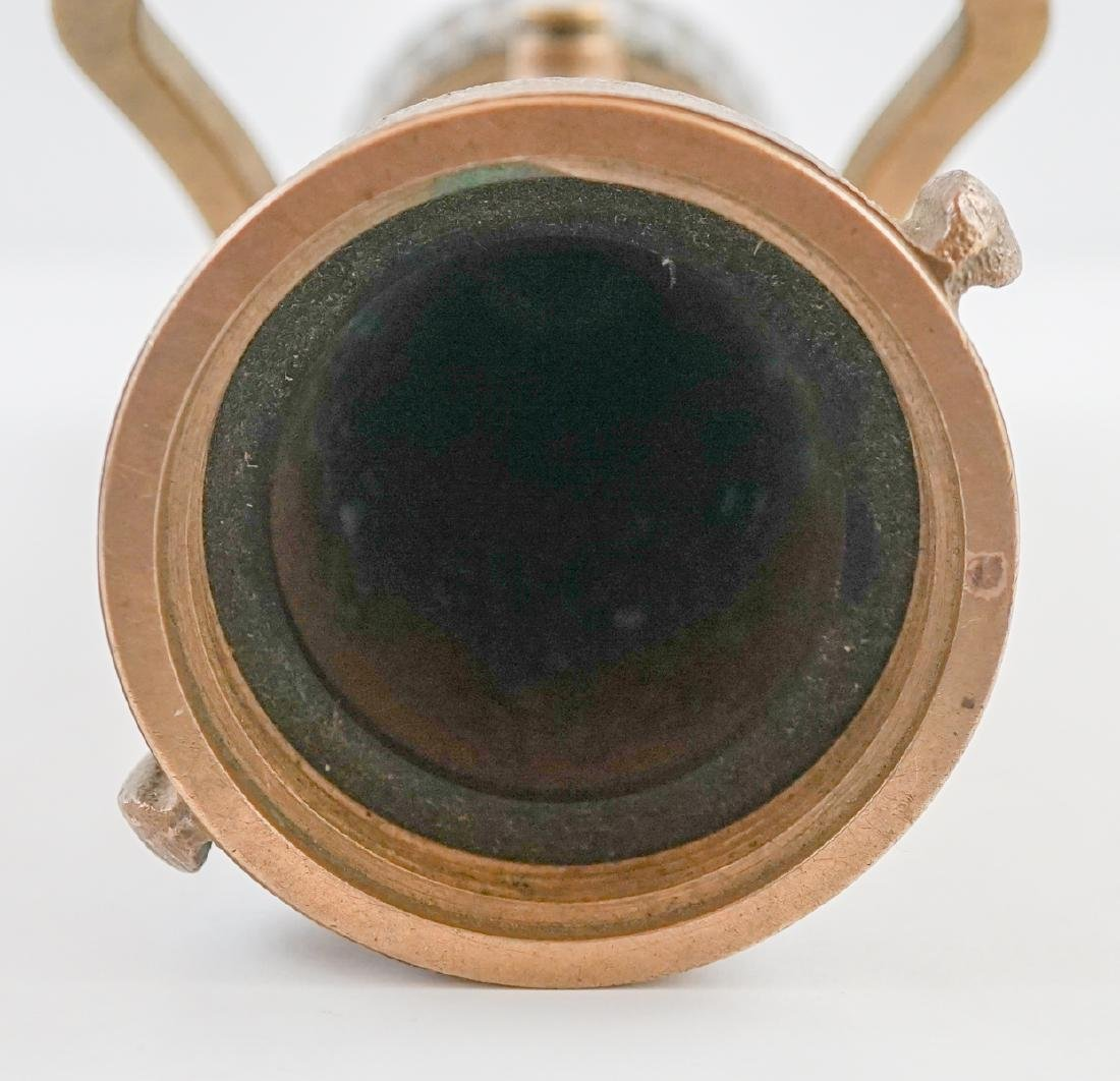 POK Brass Fire Hose Nozzle - 8