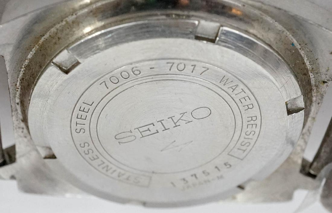 Vintage Seiko Automatic, Signed Navajo Lugs - 4