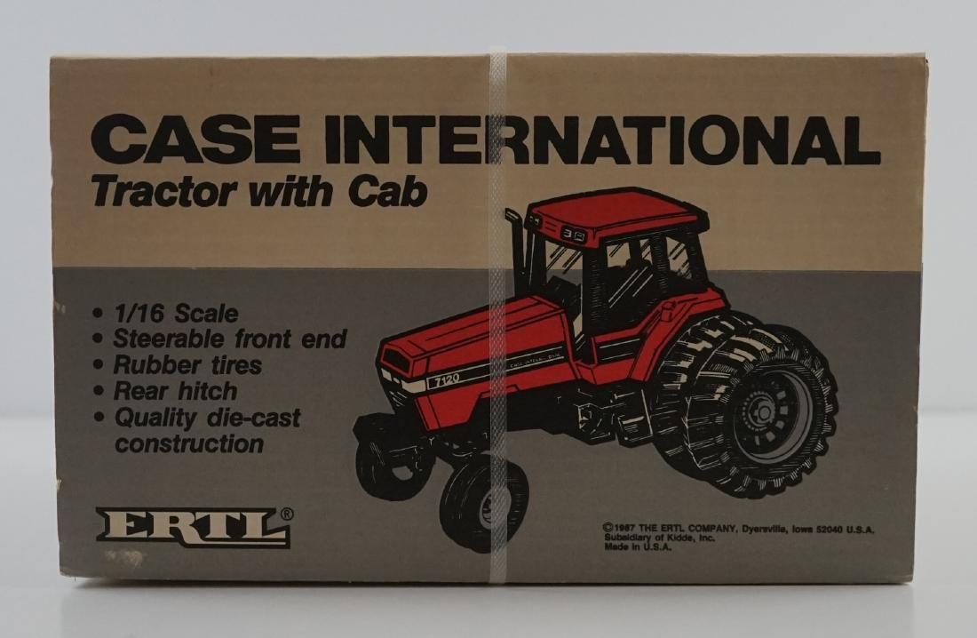 Ertl Case IH 7120 Tractor With Cab MIB - 4