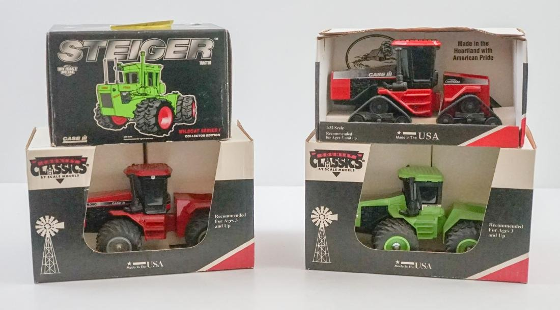 Four Scale Model Tractors All MIB