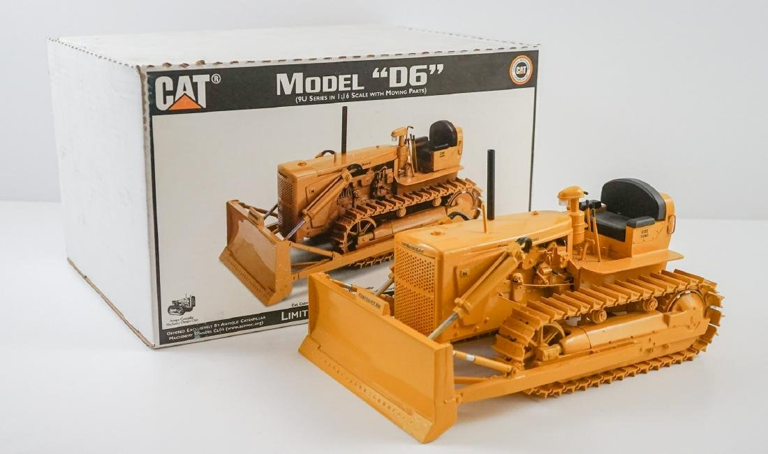 "Caterpillar Model ""D6"" Scale Model ACMOC Riecke"