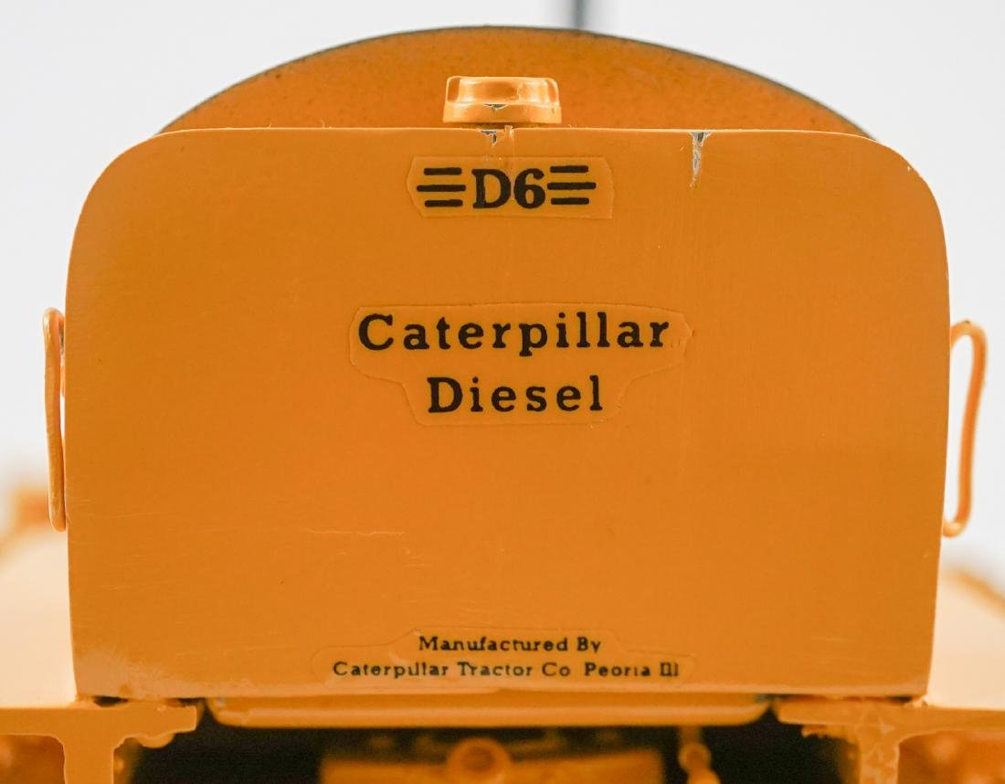 "Caterpillar Model ""D6"" Scale Model ACMOC Riecke - 6"