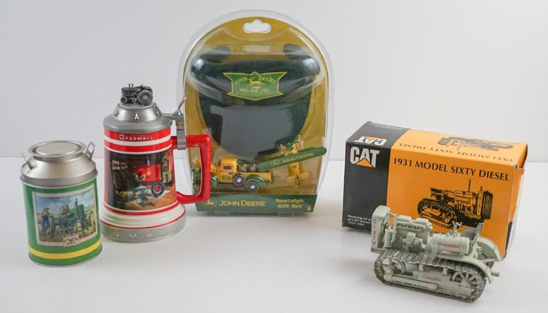 Group of Farm Equipment Collectibles