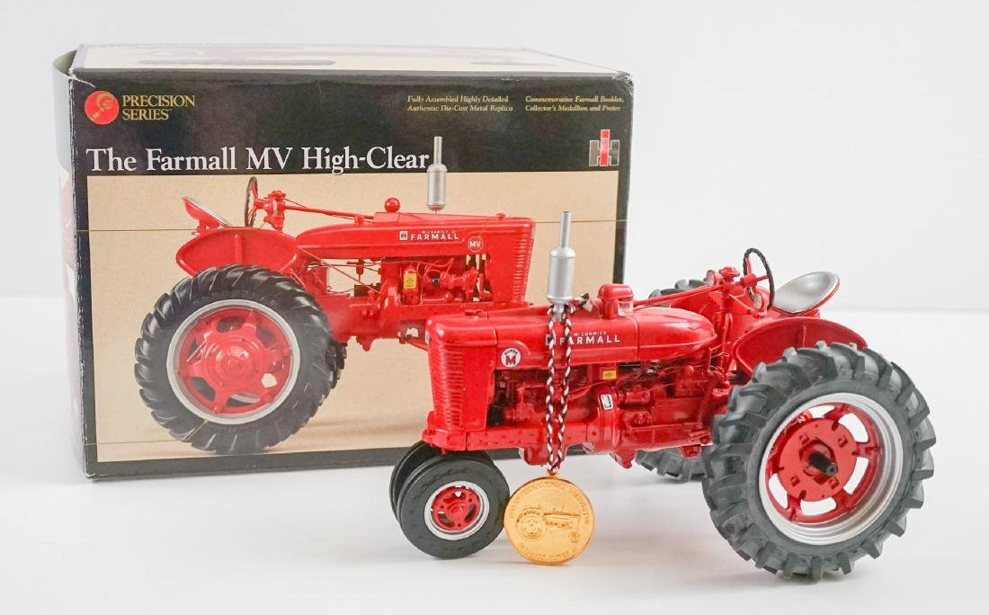The Farmall MV High-Clear Die0Cast Replica MIB