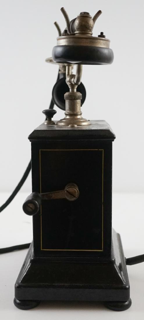 JYDSK Telefon Aktieselskab Vintage Crank Telephone - 4