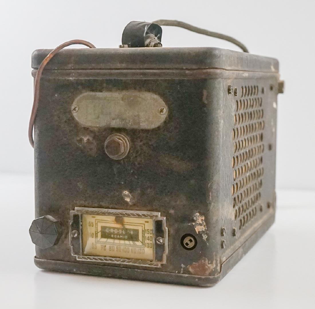 Crosley Model 4A1 Antique Car Auto Tube Radio