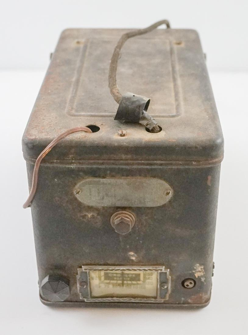 Crosley Model 4A1 Antique Car Auto Tube Radio - 4