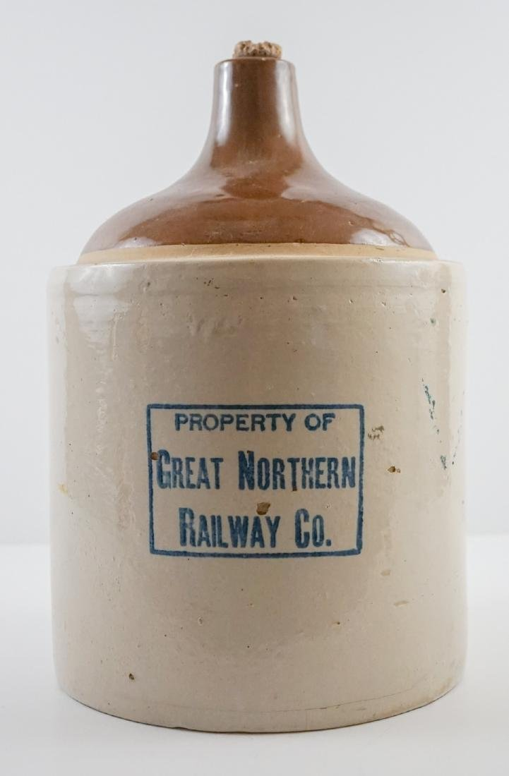 Great Northern Railway 2 Gallon Jug