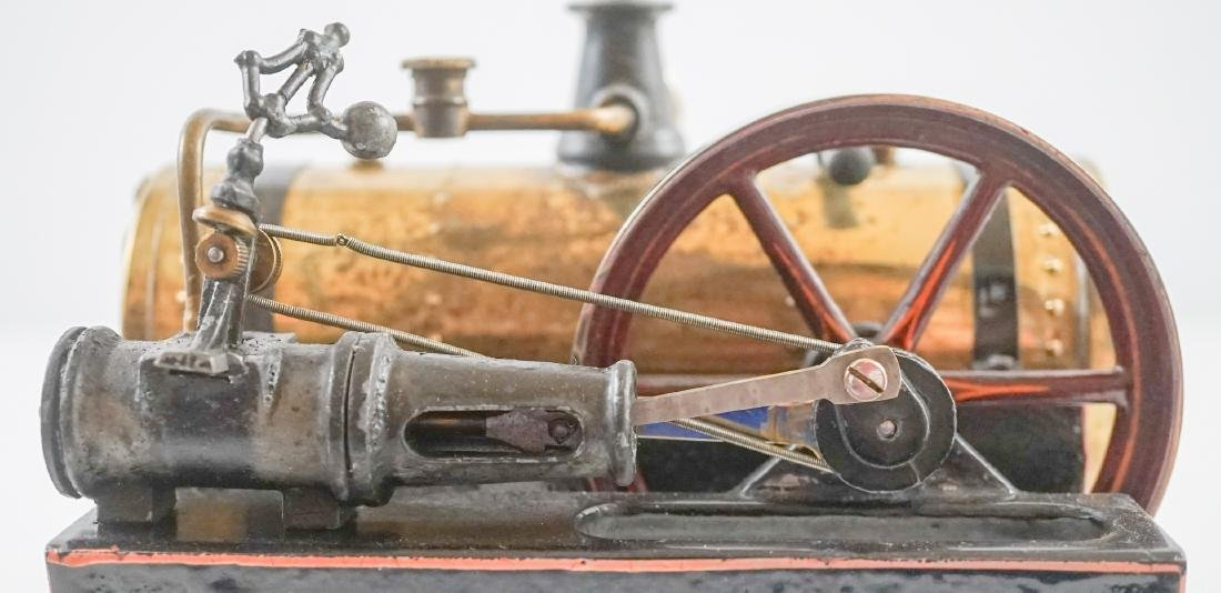 Antique Steam Engine Made In Germany - 2