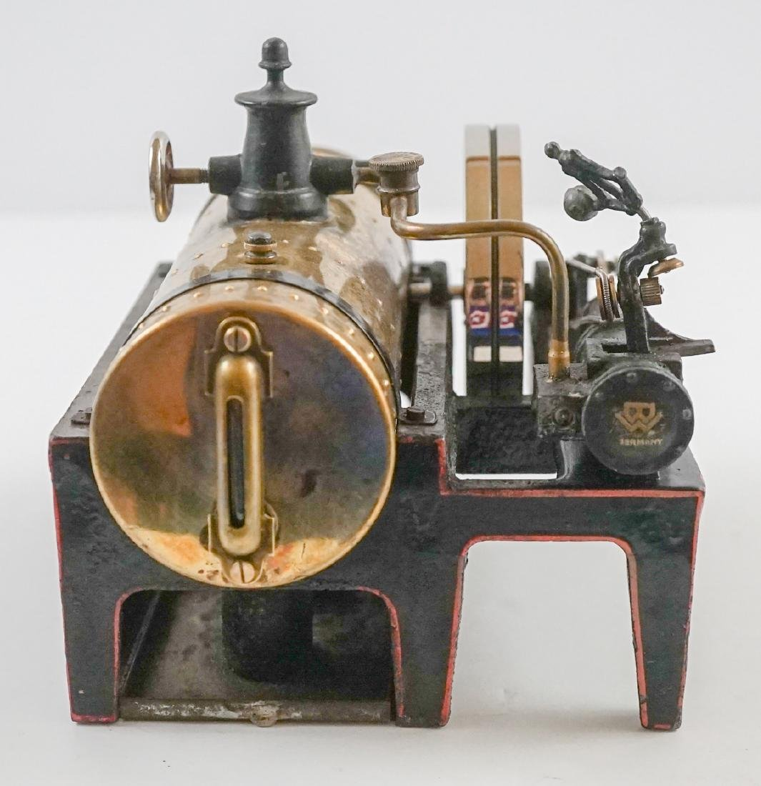 Antique Steam Engine Made In Germany - 3