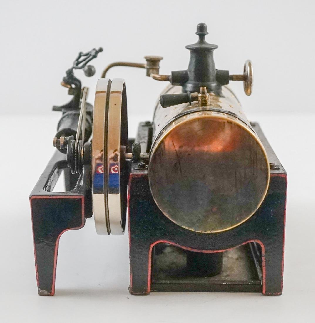 Antique Steam Engine Made In Germany - 5