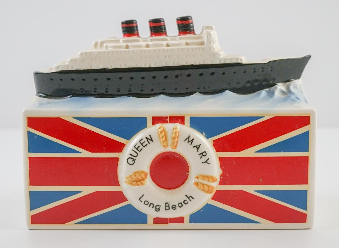 Vintage Queen Mary Bank