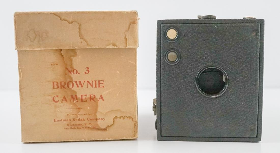 Kodak Brownie No. 3 Camera with Box