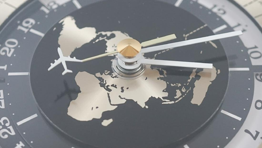 Vintage Seiko Quartz World Clock - 10
