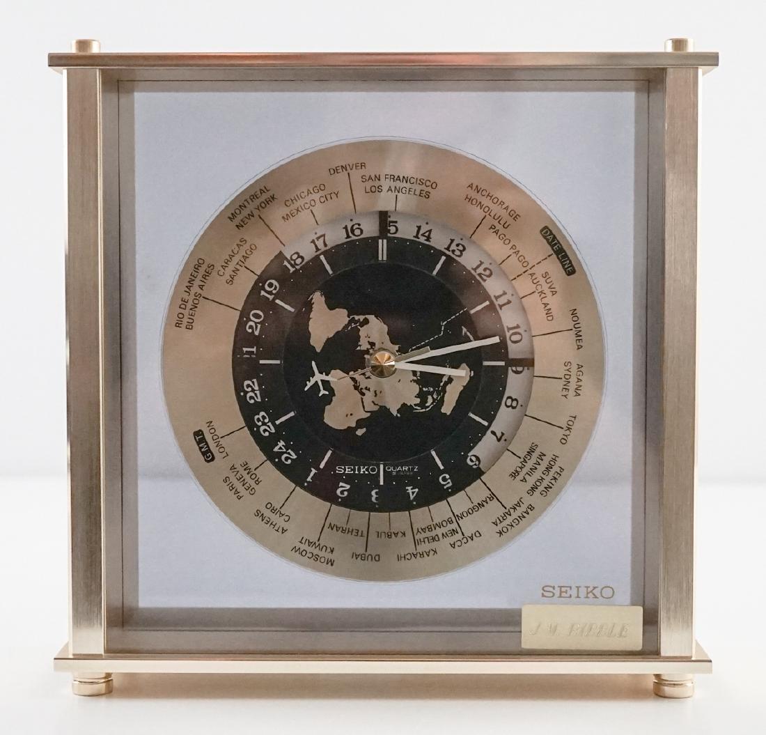 Vintage Seiko Quartz World Clock