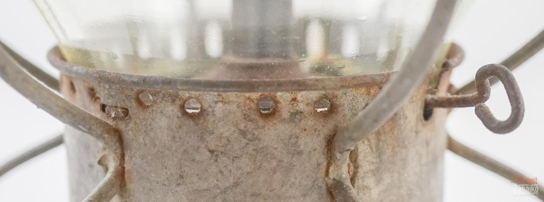 Great Northern Railway Lantern, Marked Globe - 10